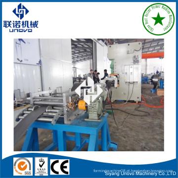 Máquina de formação de canais de seção de aço do equipamento 41 * 41 unistrut