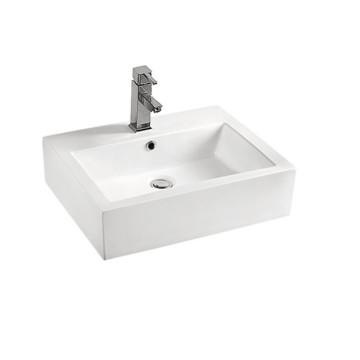 Lavabo de cerámica con lavabo de encimera XS0012