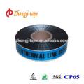 Подгонянное печатание кабеля он нелегально обнаруженная предупреждающая лента
