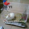 Cages d'animaux en acier inoxydable pour lapin