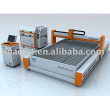 380Mpa 2000 * 3000mm pont de coupe en pierre type CNC machine de découpe jet d'eau