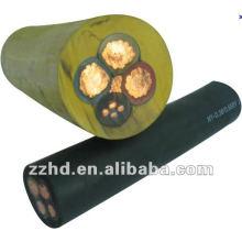 Cabo de solda flexível com cabo de borracha H07RN-F