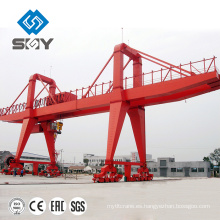 Estructura personalizada Manual spillway gate Grúa de pórtico