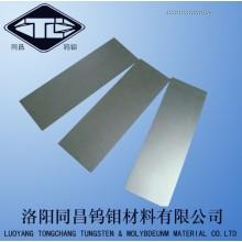 Kundenspezifische Hot Rolling poliert/Bright Molybdän Platte für (Ofen) Schild