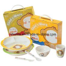 """100% Melamine Dinnerware- """"Bigi"""" Series Child Gift Set / Melamine Tableware (BGG1)"""