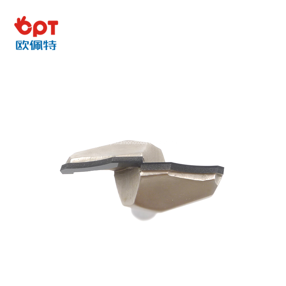 PCD forming router bit for nesting
