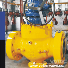Gear Operated Top Entry Ball Valve