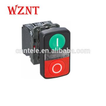 LA37-B5W7 XB5 Double key with light button waterproof type