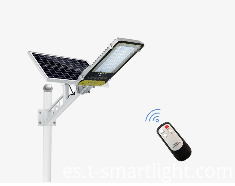 Solar street light for home garage