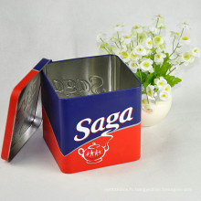 Logo imprimé personnalisé Chinese Tea Tin Box
