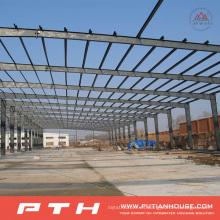 2015 Estructura de acero prefabricada de diseño industrial de construcción Almacén (PTW-009)