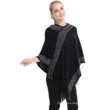 New style 2017 stocked winter ladies fall fashion mexicano womens rain poncho