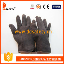 Коричневый Джерси Красный флис Liner Safety Glove Dcd109