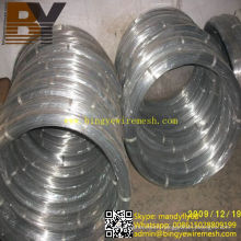 South Amercial Galvanized Steel Oval Wire