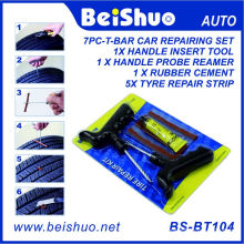 8PCS Emergency Tire Repair Tooling with T-Handle Insert Tool