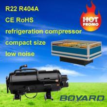 réfrigérateur pièces r404a 1.5HP refroidisseur congélateur réfrigérateur domestique compresseur pour l'affichage de supermarché surgelés
