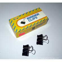 Pinces pour reliures noir 32mm (1002)