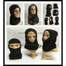 Hiver Outdoor Bonnet coupe-vent Bonnets multifonctionnels Capuchon Masque facial néoprène Masque anti-terrorisme Bicouche Masque (couleur assortie)