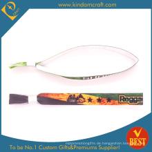 Neueste Custom Textil Armbänder für Werbegeschenk (W0065)