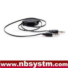 3.5mm Stereo flexibles Audiokabel Auto AUX Audiokabel, Auto mp3
