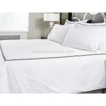 capa de edredão decorativa conjunto para hotel / home com ponto / nó / cadeia / padrão de fretwork