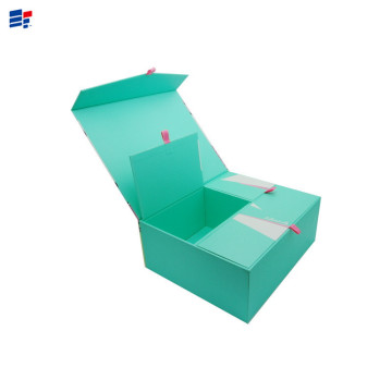 Custom paper gift contain box for packaging apparel