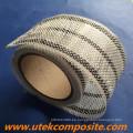 Ancho de los 8cm Cinta híbrida de la fibra de carbono 200G / M2