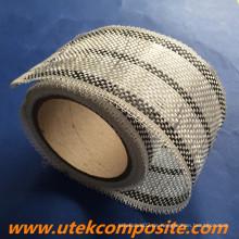 8cm Breite 200G / M2 Carbon Fiberglas Hybrid Tape