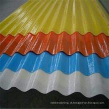 Folha de telhado em compósito de folha de telhado FRP