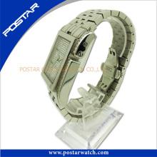 Señoras reloj de pulsera de cuarzo reloj de acero inoxidable Proveedor Psd-2784