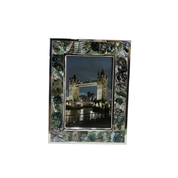 Home Decor Paua Shell Decorative Picture Photo Frame