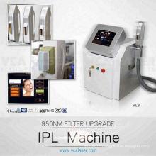 3 em 1 máquina multifunções ipl + rf + elight O equipamento de beleza inteligente 3S é multi-função que integra com I