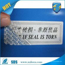 La industria de la logística utiliza una etiqueta de seguridad a prueba de manipulaciones