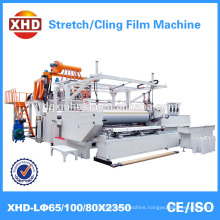 High Quality Automatic pallet stretch wrap film machine with SIEMENS Electric parts