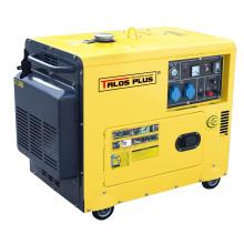 6 Kw / 6 kVA Silent Diesel Generator für Kaltbereich (TD7500LDE)