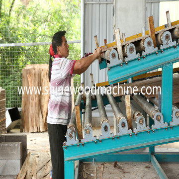 Efisien tinggi Roller Veneer Dryer machine