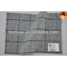 estoque de tecido de casaco de lã de flanela
