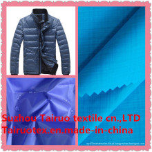 Tela de nylon de 100% com Downproof para a tela exterior do Sportswear