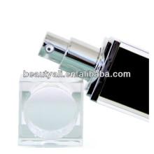 30ml 50ml Luxury Square Acrylic(PMMA) Airless Pump Bottles