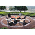 PE Rattan Wicker Furniture Garden Outdoor Furniture Chair and Table