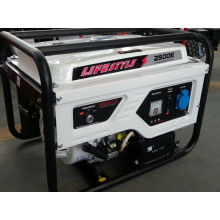 Prix de générateur portatif de générateur d'essence de 2kw 5.5HP (style de vie 2500E)