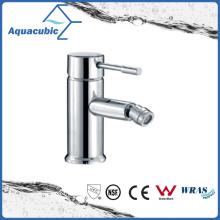 Chromed Surface Single Handle Brass Bidet Faucet (AF6002-8)