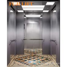 Center Opening Passenger Elevator Hairline Stainless
