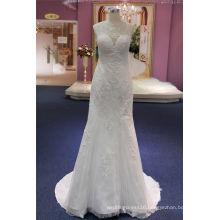 High Quality Lace Applique Wedding Dress