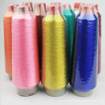Fil à broder de haute qualité 100% polyester tourné