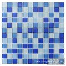 mosaico de vidro para piscina
