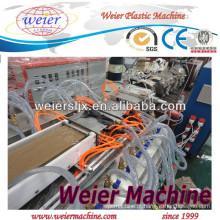 Linha máquina WPC para produção de placa de piso/palete