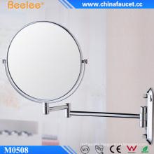 Beelee Flexible Framed Make up Wall Mirror