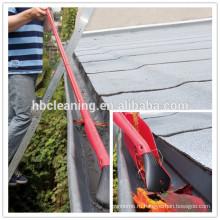инструмент для чистки садовых, огородных щетка, совок листьев