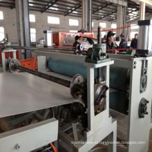 Línea de producción plástica del tablero de la espuma de Celuka de la maquinaria del PVC